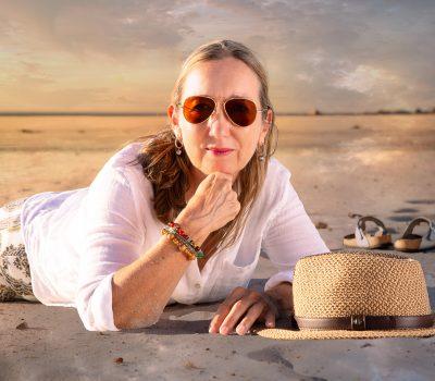 Andrea Beach photoshoot